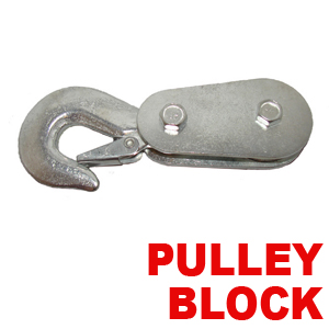 Utility pulleyblock